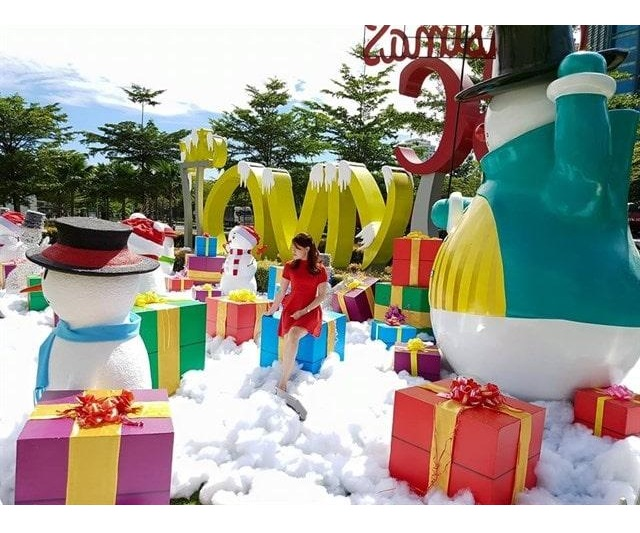 18 Hộp Quà Xinh Xắn Trang Trí  Noel