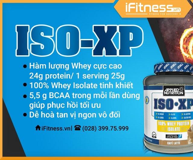 Nutrition ISO-XP giảm mỡ tức thì
