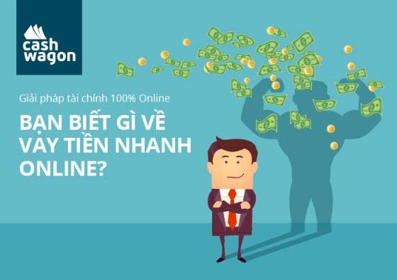 Bạn biết gì về vay tiền nhanh online?