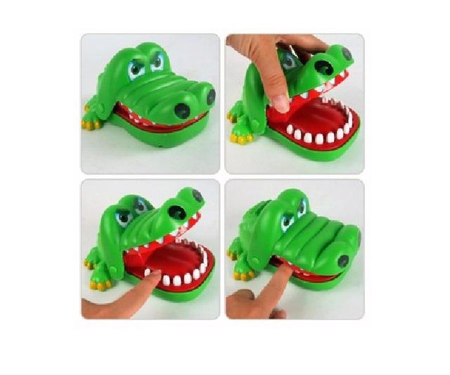 Bạn dám khám răng cho cá sấu?