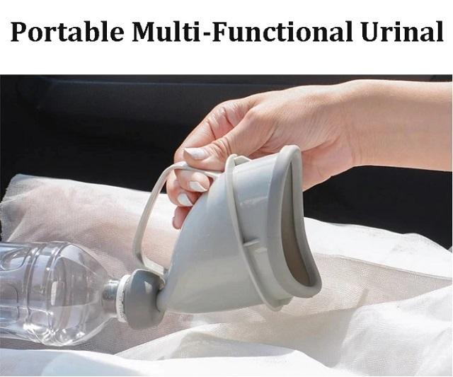 bồn giúp vệ sinh trên xe dễ dàng