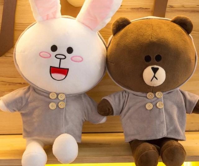 Cặp đôi gấu bông tỏ tình bạn gái