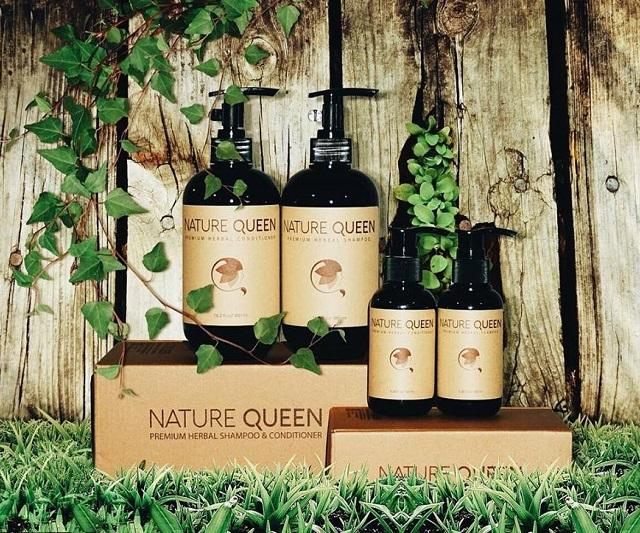 chăm sóc mái tóc đẹp Nature Queen