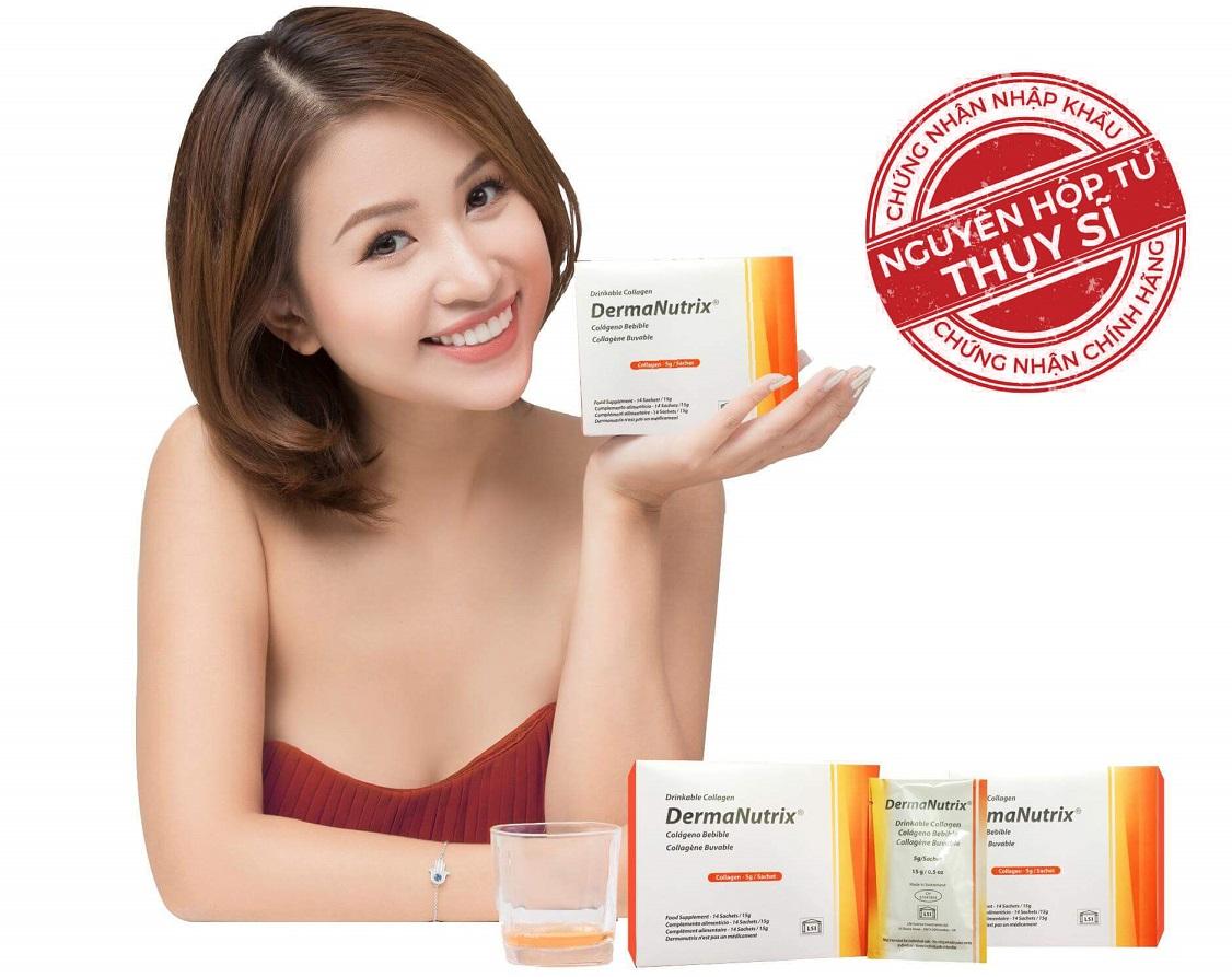 Collagen DermaNutrix Thụy Sĩ nhập khẩu nguyên hộp