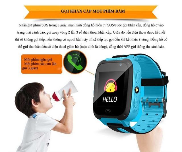 Đồng hồ định vị trẻ em SmartKID