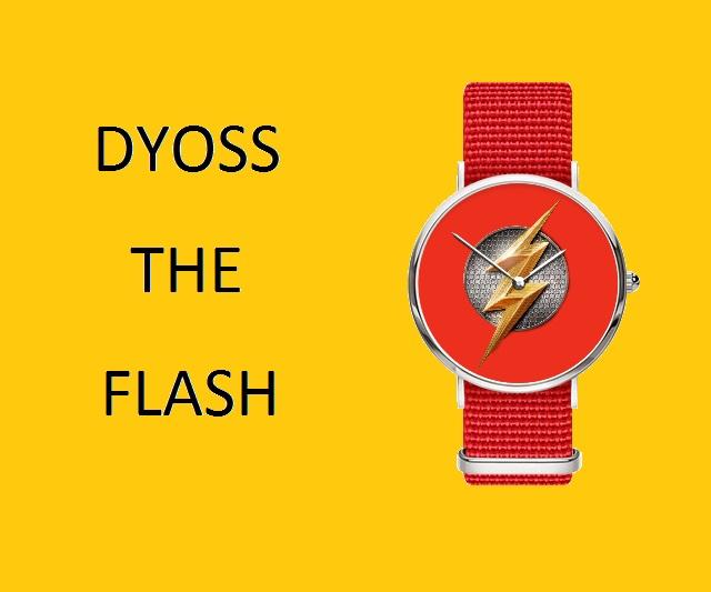 Đồng hồ The Flash độc đáo