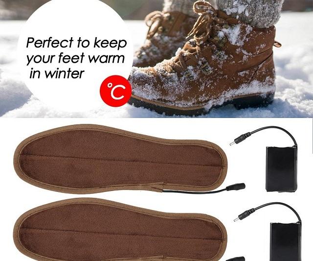 Giữ ấm đôi chân ngày đông