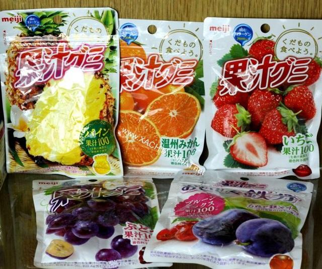 Kẹo Dẻo Trái Cây Meiji