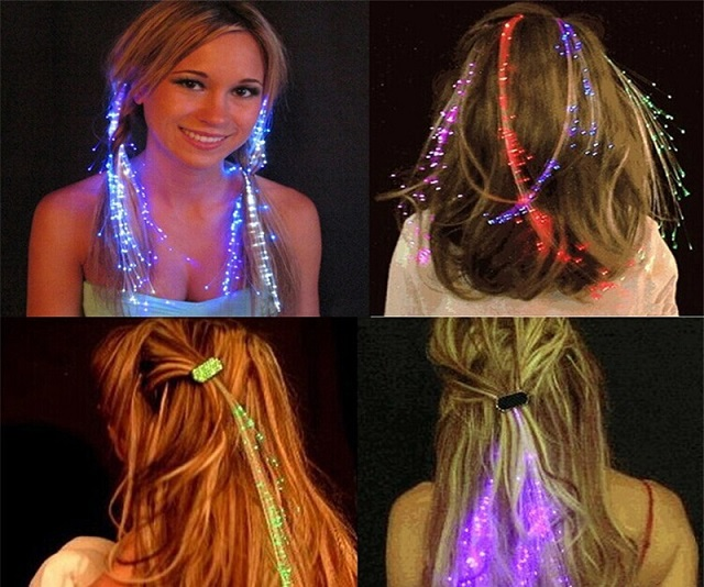 LED phát sáng tóc Noel