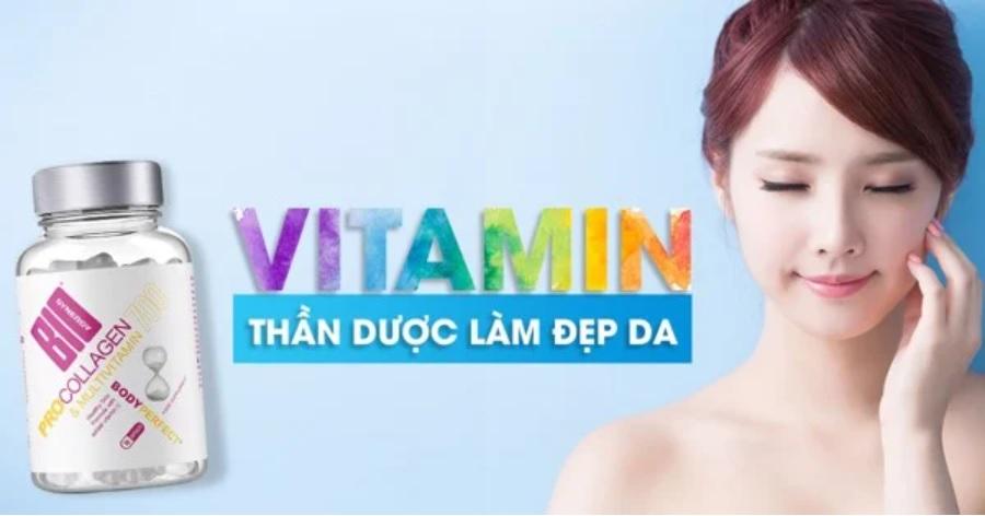 Lời giải đáp hoàn hảo cho câu hỏi uống Vitamin gì để đẹp da