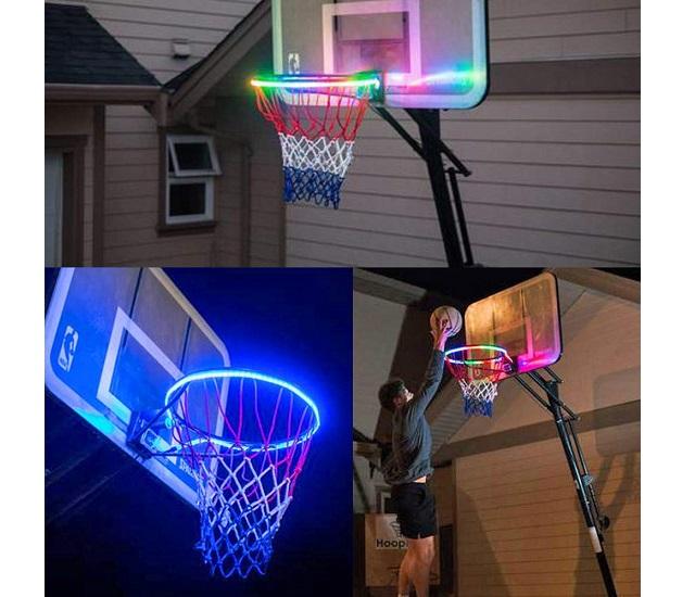 Lưới bóng rổ phát sáng cực ngầu