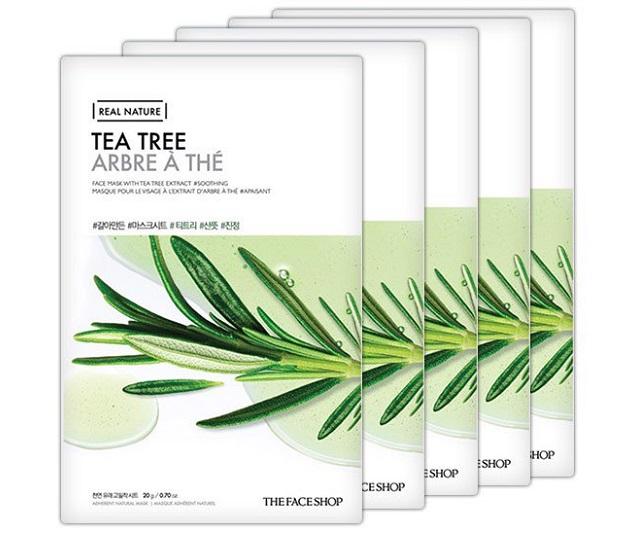 Mặt Nạ Thanh Lọc Da TEA TREE