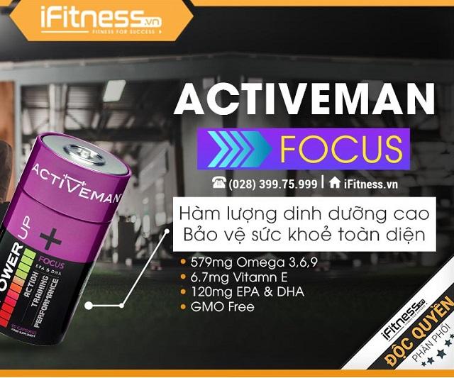 Omega cao cấp Activeman Focus