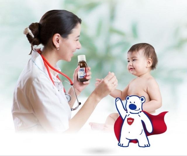 Siro Gấu Kan Imunoglukan