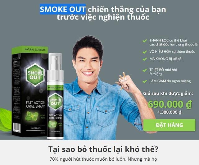 Smoke OUT bỏ thuốc trong 14 ngày