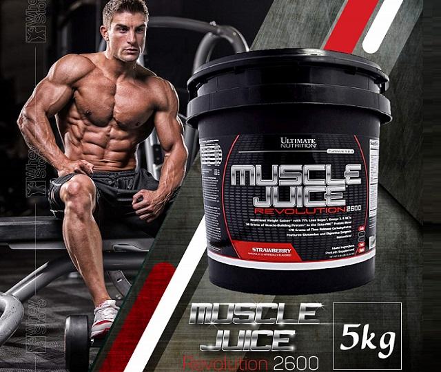 Sữa Tăng Cân Muscle Juice