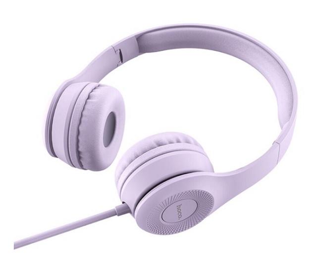 Tai nghe chụp tai Hoco màu tím