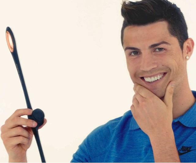 Cùng Ronaldo tập thể dục cho mặt