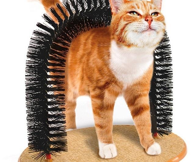 Trụ gãi lông dành cho mèo