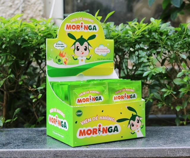 Viên đề kháng Moringa cho trẻ