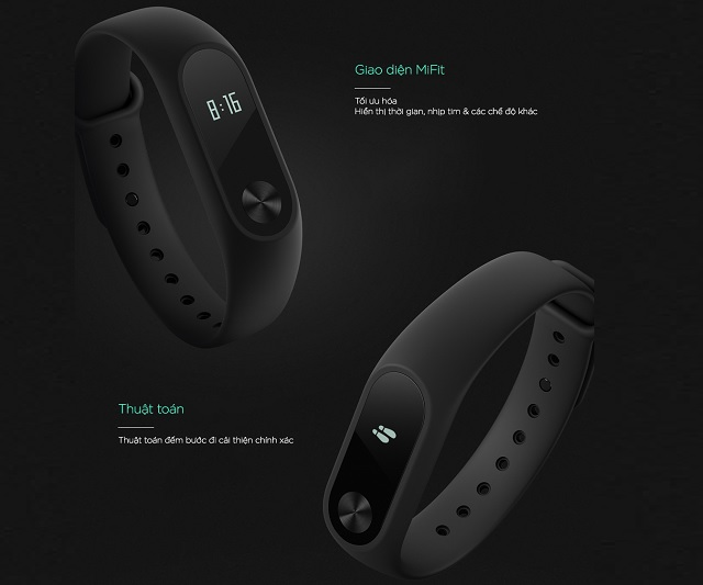 Vòng đeo tay Xiaomi Miband 2